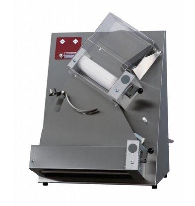 Diamond Pizza / Deegroller 2 rollen - 420mm - 530x530x(h)730mm