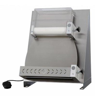 Diamond Pizza / Dough Roller Linear 2 rolls - 420mm - 530x530x (H) 730mm