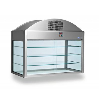 Diamond Neutral Showcase | With Bottom | 1410x730x (h) 1150 mm | 0.1 kW