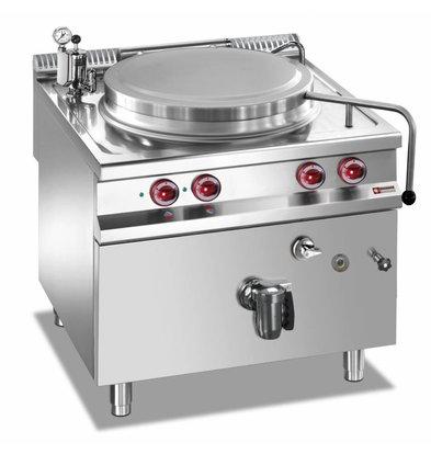 Diamond Kookketel Elektrisch RVS | 100 Liter | Indirecte Verwarming | 14,4kW | 800x900x850/920(h)mm