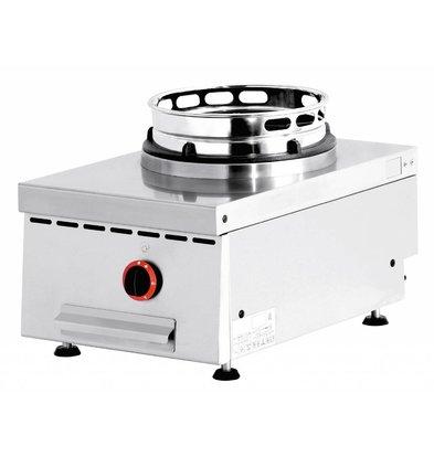 Diamond Gas Wok Fornuis 1 brander Tafelmodel - 1 x 15KW
