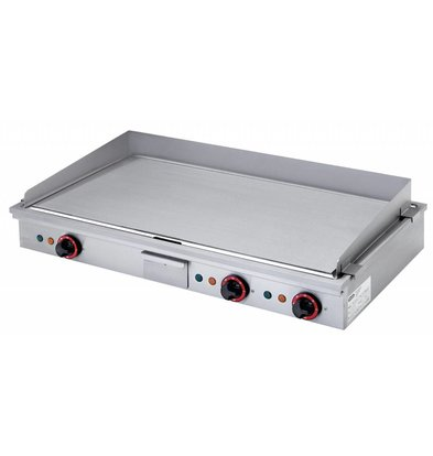 Diamond Teppanyaki Grill Electric 3 x 2.7 KW Tabletop - 90x50cm