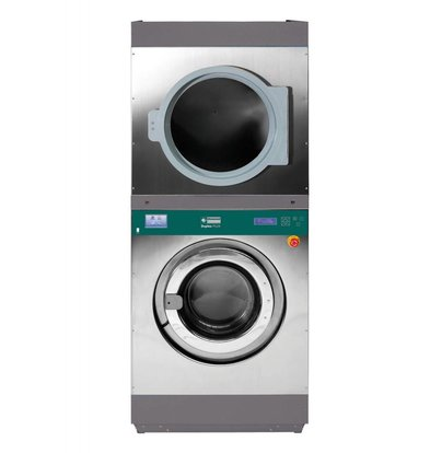 Diamond Hotel Washer 18kg and 18kg Dryer Hotel - 880x1077x (h) 2141mm