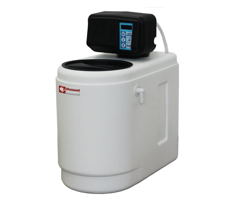 Diamond Waterontharder PRO | Vaatwasser, IJsblokjesmachine | Chrono/Volumemeter | Monoblok - 500 Liter