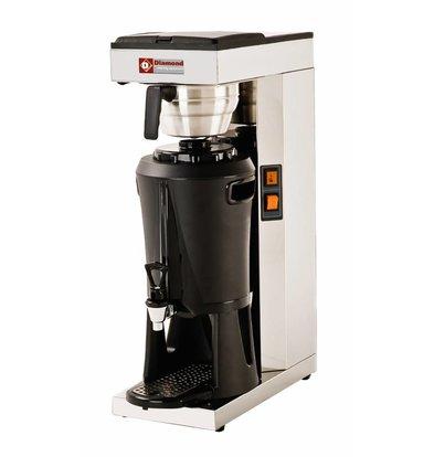 Diamond Koffiezetapparaat met Tapkraan Digitaal - Automatische Vulling - 2,2 kw - 2,5 liter