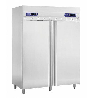 Diamond Refrigerator and Vrieskast- 2 x 700 Liter - 2 doors - 150x80x (h) 204cm