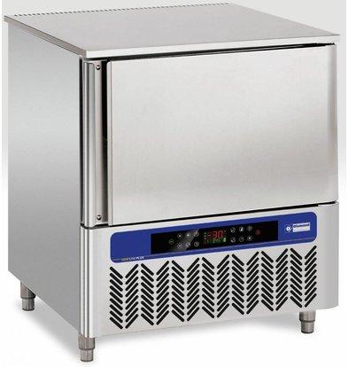 Diamond Quick Freezer Stainless Steel | 5x GN1 / 1 or 5x 600x400mm | 230V / 850W | 784x800x900 (h) mm