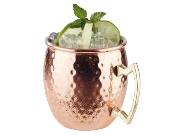 APS FSE Moscow Mule | RVS met Koperlook | 550ml | Verguld Handvat