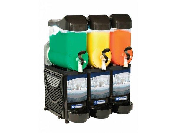 Diamond Slush IJs Dispenser | Granita/Sorbet machine | 3 x 10 liter
