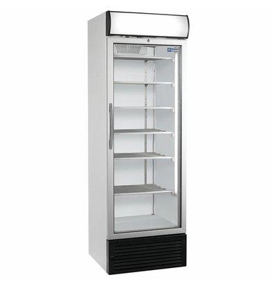 Diamond Vitrine freezer with lightbox - 500 liters - 680x655x (h) 2090mm