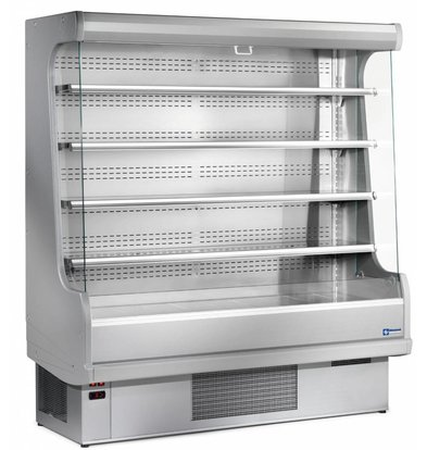 Diamond Wall Furniture Chilled 4 Levels 763x (h) 2015mm Fully Stainless Steel - Choice of 4 Widths