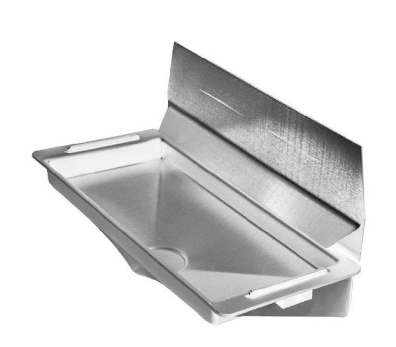 XXLselect Water Tray / Drip tray for Dyson Hand Dryer (Universal) | GREY + Stainless Steel Spray Wand
