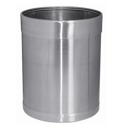 Bolero Stainless steel trash 10.2 ltr.