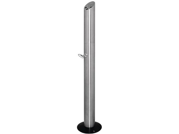 Bolero Peukenzuil staand | RVS | Gemakkelijk te Legen | 200x980x(h)210mm