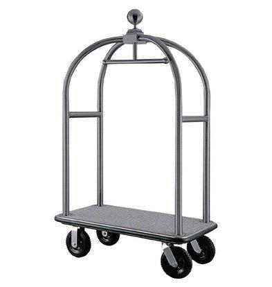 Bolero Lobby Bagage/Koffer Trolley - RVS