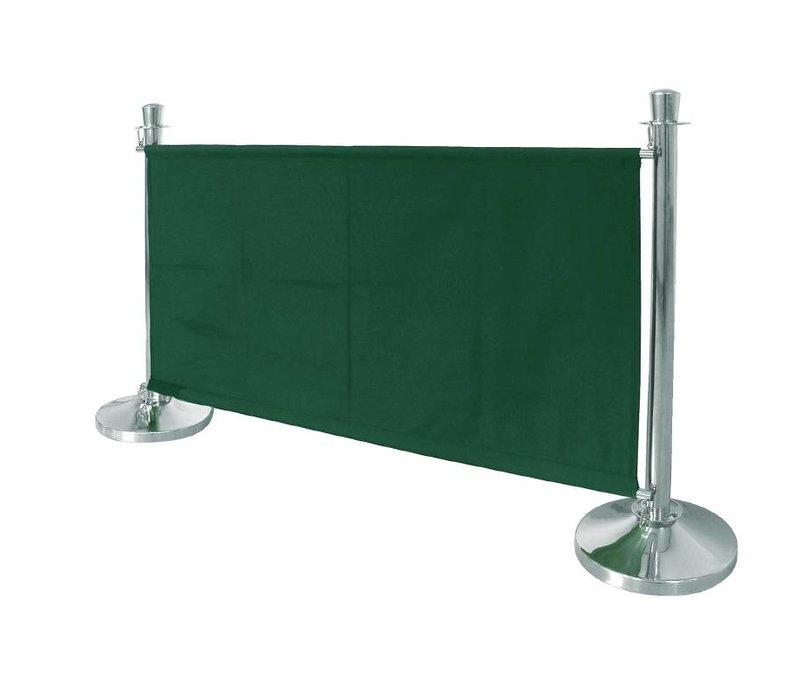 Bolero Canvas afzetdoek voor afzetpaaltjes - Groen