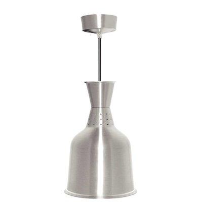 Buffalo Aluminium Warmte Lamp Zilver Kleur - 250W/230V - 18,5x(h)33cm
