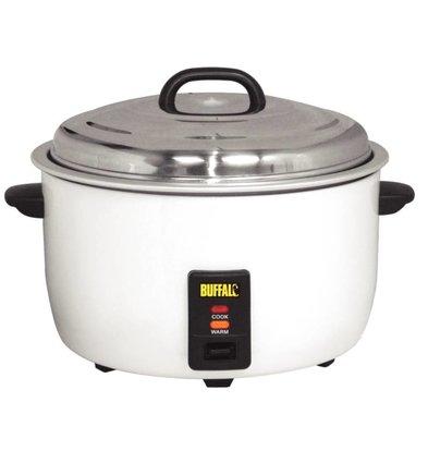 Buffalo XXL Professional Rice Cooker - +/- 92 porties per Kook de rijst maatbeker + Shovel - Anti-stick - 23 Liter