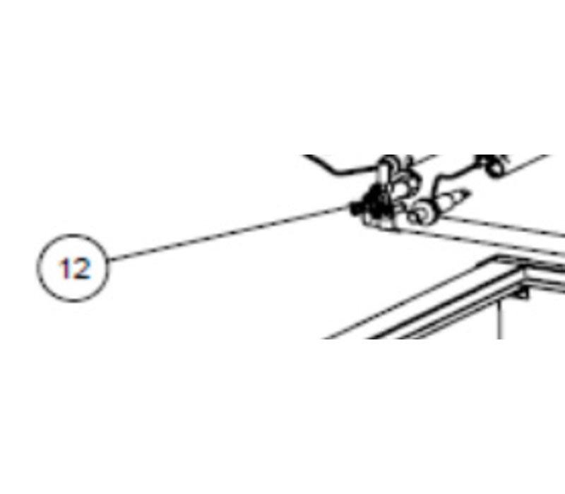 Hendi Onderdeel 12 - Gaskraan voor de 149614