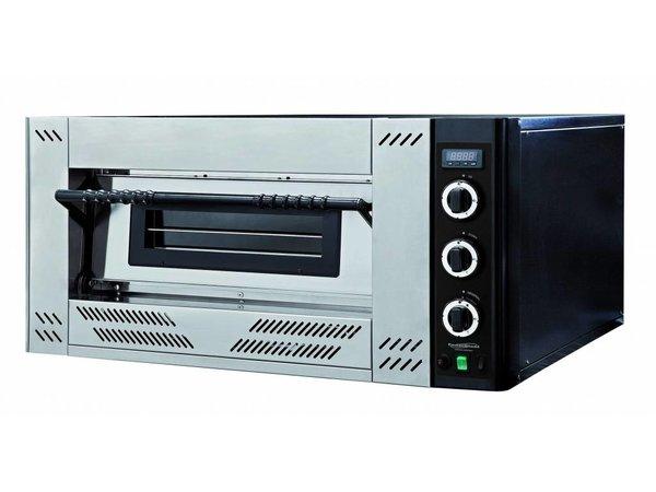 Combisteel Pizza Oven Gas - Pizza 30 cm - 6 stuks - 1000x1362x(h)560mm