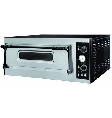 Combisteel Pizza Oven Electric - Pizza 32 cm - 4 pieces - 975x924x (h) 413mm