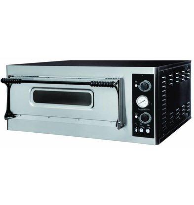 Combisteel Pizza Oven Elektrisch - Pizza 32 cm - 4 stuks - 975x924x(h)413mm