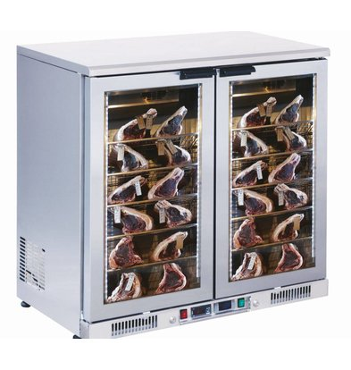 Combisteel Dry Age refrigerator - 198 liters - -3 / + 5 degrees - 920x550x (h) 910mm