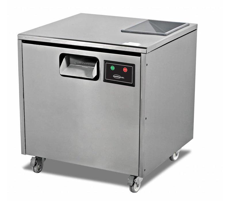 Combisteel Bestekpoleermachine - 7000 stuks bestek - 660x650x(h)700mm
