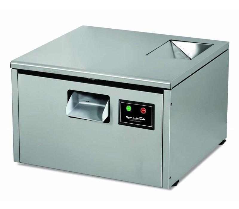 Combisteel Bestekpoleermachine - 3000 stuks bestek - 560x550x(h)410mm