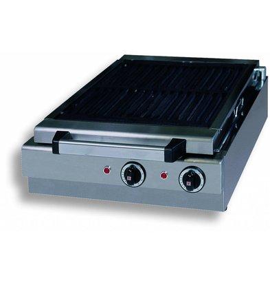Combisteel Stoomgrill Elektrisch Tafelmodel - 410x340mm - 49x50x(h)18cm