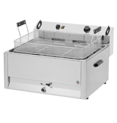 Combisteel Friteuse | Electric | Bakery Fish and Olives | 30 liters | 400V | 15kW | 560x540x (h) 370mm