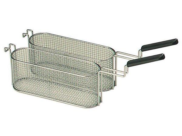Combisteel Friteuse mandjes 5 Liter | twee stuks