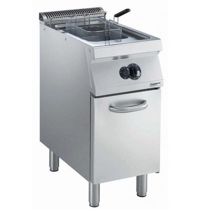 Combisteel Friteuse | Gas | 15 liters | 400V | 14kW | With chassis | 400x700x (h) 850mm