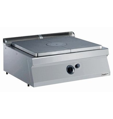 Combisteel Cooking Plate Gas - 7kw - 800x700x (h) 250mm