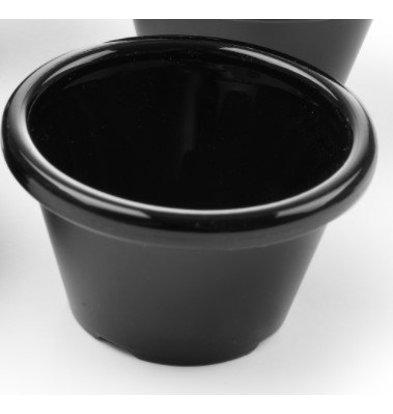 Hendi Ramekin Zwart | 45 ml | 60x60x35(h)mm | Verpakt per 12