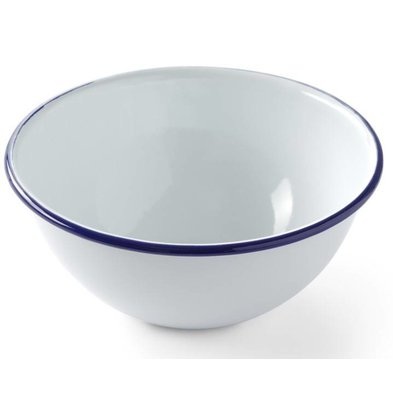 Hendi Saladeschaal | Geëmailleerd Servies | Ø160mm