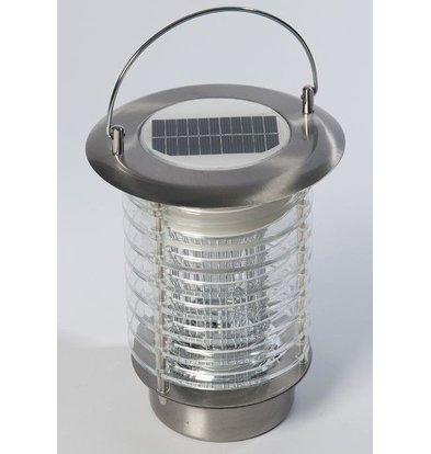 Lumisky Anti-Muggenlamp 50-60m² | Zonne-Energie 0,3W | 18x18x18cm | Koud Wit Licht