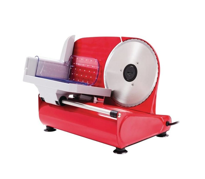 Caterlite Vleessnijmachine Basic   RVS   230V   400x290x(H)280mm