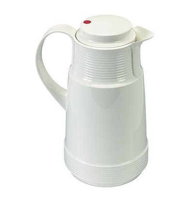 XXLselect Insulated - Plastic - Glass Inner - 1 Liter - White