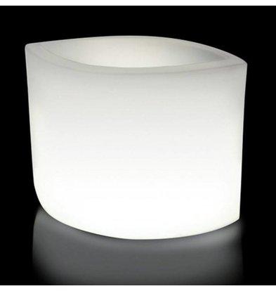 Lumisky Verlichte Bloempot Ovy W 60cm   13W (Kabel)   Koel Wit Licht