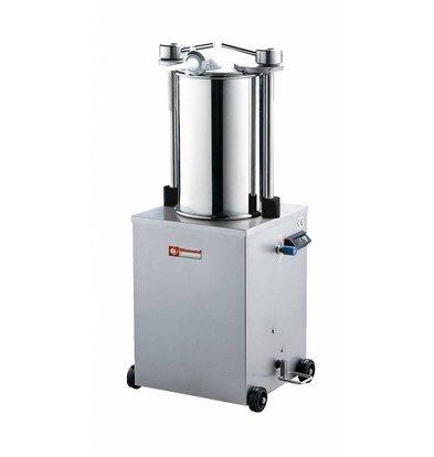 Diamond Worstenvuller / stuffing box on wheels - 35 liters - 0.7 HP - 640x480x (h) 1160mm