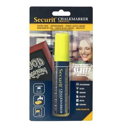 Securit Dikke Krijtstift | Geel | 7-15mm