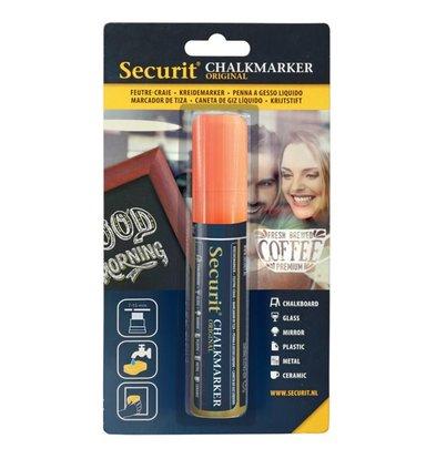 Securit Dikke Krijtstiften | Oranje | 7-15mm