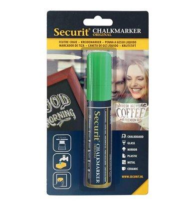 Securit Dikke Krijtstift | Groen | 7-15mm