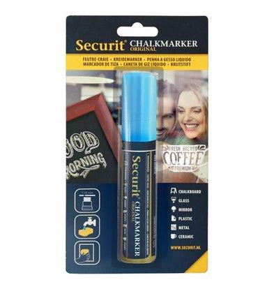Securit Dikke Krijtstift | Blauw | 7-15mm