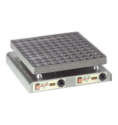 XXLselect Poffertjes Baking tray - 100 Poffertjes - 470x (H) 440mm - 4.4KW
