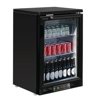 Polar Bar Koelkast met Klapdeur - 104 flesjes 330ml - 140 liter - 600x530x(H)925mm