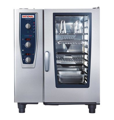 Rational Rational Steamer CM 101E Plus Electric | Combimaster Plus 101 | 10x 1 / 1GN or 20x 1 / 2GN | 80-150 Couverts
