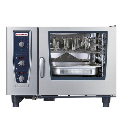 Rational Rational Steamer CM 62E Plus Elektrisch | Oven Combimaster Plus 62 | 6x2/1GN of 12x 1/1GN | 60-160 Couverts