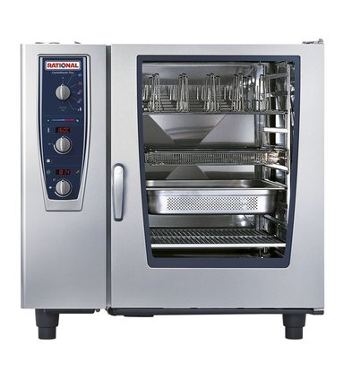 Rational Rational Steamer CM 102E Plus Elektrisch | Combimaster Plus 102 | 10x 2/1GN of 20x 1/1GN | 150-300 Couverts